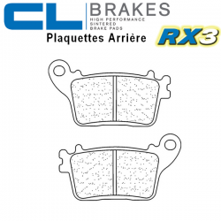 Plaquettes de frein CL BRAKES 1174RX3 HONDA CBR1000RR / SP / ABS 06-19 (Arrière)