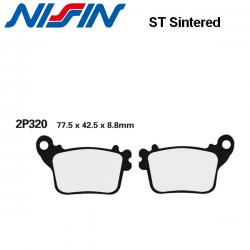 Plaquettes de frein NISSIN 2P320ST SUZUKI GSX-R 600 11-18 / GSX-R 750 11-18 (Arrière)