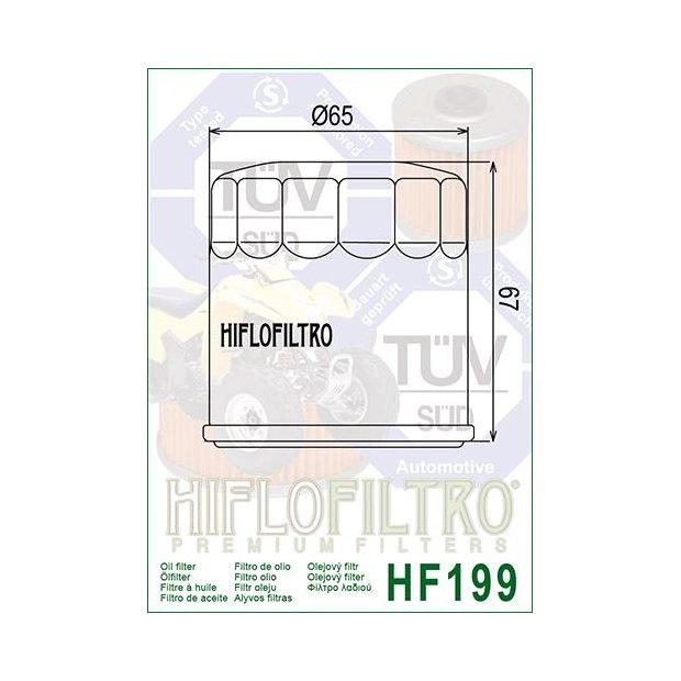 Filtre à huile HIFLOFILTRO HF199 INDIAN FTR 1200 - S 19-20