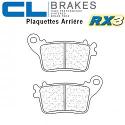 Plaquettes de frein CL BRAKES 1174RX3 KAWASAKI ZX-6R 636 ABS 13-20 (Arrière)