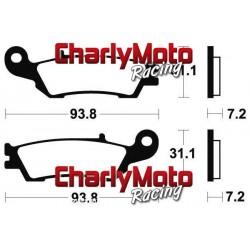 Plaquettes de frein Bendix MOR340 Metal Fritte
