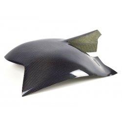 Protections de bras oscillant MOTOFORZA DUCATI 848 - EVO 08-13 / 1098 07-08 / 1198 09-11 (Carbone - Carbone/Kevlar - Titanium)