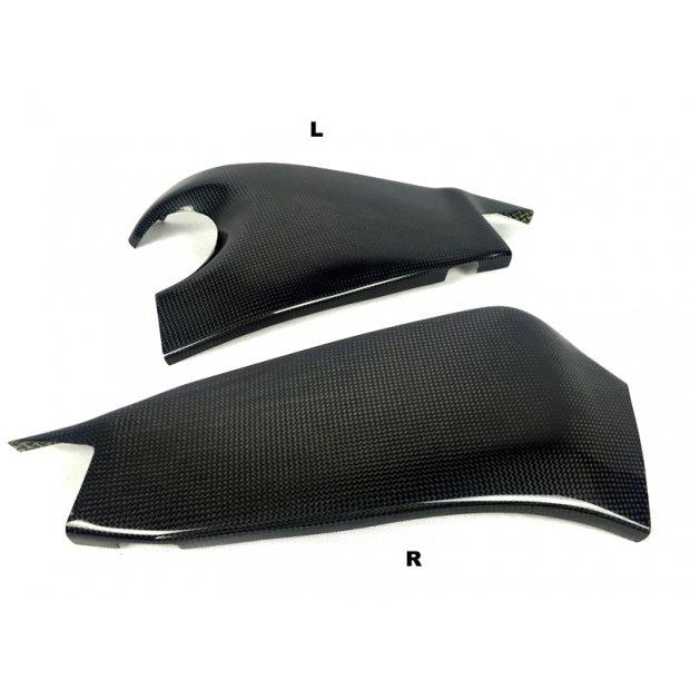 Protections de bras oscillant MOTOFORZA KAWASAKI ZX-6R 09-13 / ZX-6R 636 13-18 (Carbone - Carbone/Kevlar - Titanium)