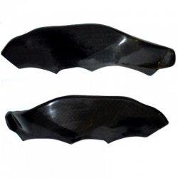 Protections de cadre MOTOFORZA KAWASAKI ZX-10R 06-07 (Carbone - Carbone/Kevlar - Titanium)