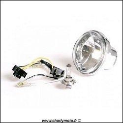 Carénage MOTOFORZA - Optique avant 90mm (type ampoule H7)