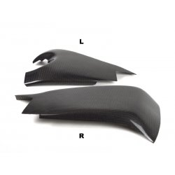 Protections de bras oscillant MOTOFORZA KAWASAKI ZX-10R 08-10 (Carbone - Carbone/Kevlar - Titanium)