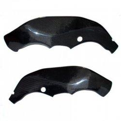 Protections de cadre MOTOFORZA KAWASAKI ZX-10R 08-10 (Carbone - Carbone/Kevlar - Titanium)