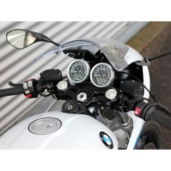 Demi guidons ABM Multiclip BMW R NINE T RACER 17- (ABS) (avec kit de montage)