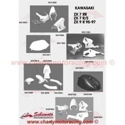 Carenage piste SEBIMOTO KAWASAKI ZX 7 R/S 96-03