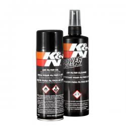 * Kit de nettoyage filtre à air KN