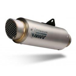 Silencieux MIVV GP PRO HONDA CB1000R 18-20 (Titanium - Casquette Inox)