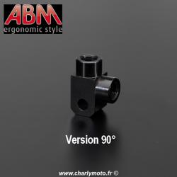 Répartiteur 02 voies ABM M10x1 - Versions 90/180 - Accessoires durites aviation
