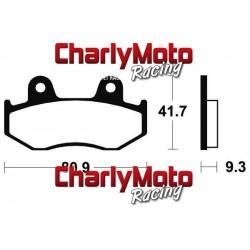 Plaquettes de frein Bendix MO209 Metal Fritte