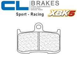 Plaquettes de frein CL BRAKES 1083XBK5 TRIUMPH STREET TRIPLE 675 R 09-17 / STREET TRIPLE 675 RX 15-17 (Avant)