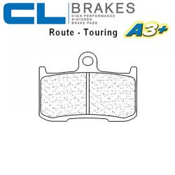 Plaquettes de frein CL BRAKES 1083A3+ TRIUMPH STREET TRIPLE 675 R 09-17 / STREET TRIPLE 675 RX 15-17 (Avant)