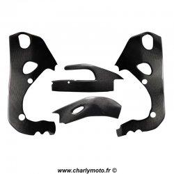 Pack protections de cadre et bras oscillant Carbone HONDA CBR1000RR 08-19