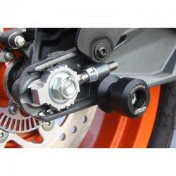 Pions de béquille Téflon GSG KTM RC 390 14-16 (M10x1,25)