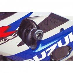 Tampons de protection GSG SUZUKI GSX-R 1000 01-02 (avec platines de déport)