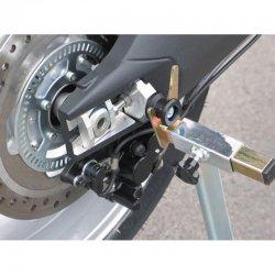 Bases pour pions de béquille GSG TRIUMPH TIGER 1050 07-14 (Pions 8mm non inclus)
