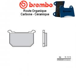 Plaquettes de frein BREMBO 07KA0608 KAWASAKI Z1000 R1 - R2 82-84 (Avant)