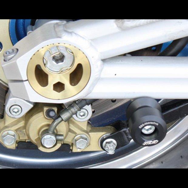 Pions de béquille Téflon GSG KAWASAKI ZRX 1100 98-00 (10mm)