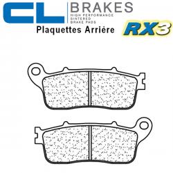 Plaquettes de frein CL BRAKES 1239RX3 HONDA VFR 1200 F DCT ABS 10-15 / VFR 1200 X CROSSTOURER 12-17 (Arrière)
