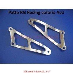 Patte de silencieux R&G RACING APRILIA RSV 1000 98-03 (Argent - 01 pot)