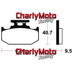 Plaquettes de frein Bendix MO148 Metal Fritte