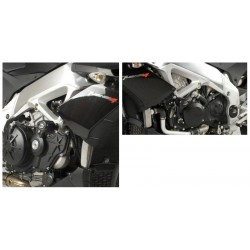Tampons de protection AERO R&G Racing APRILIA TUONO V4 11-15