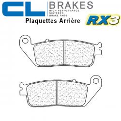 Plaquettes de frein CL BRAKES 2313RX3 HONDA ST1100 PAN EUROPEAN 90-01 (NO ABS) / 92-95 (ABS) (Arrière)