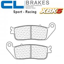 Plaquettes de frein CL BRAKES 2256XBK5 TRIUMPH STREET TWIN 900 16-17 (Avant)