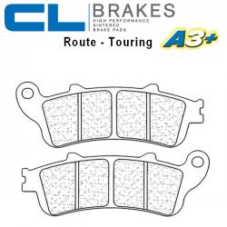 Plaquettes de frein CL BRAKES 2602A3+ KAWASAKI EX 650 - NINJA 17-19 (ABS) (Avant)
