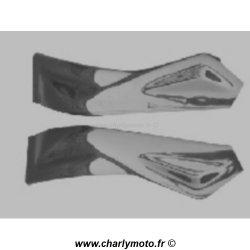 Protections de cadre SEBIMOTO APRILIA RSV 1000 R 04-11 (Carbone/Kevlar)