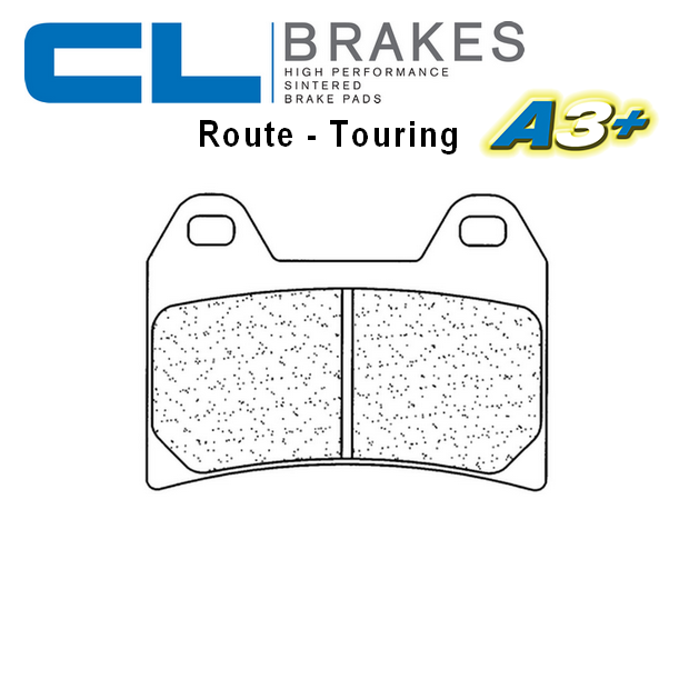 Plaquettes de frein CL BRAKES 2539A3+ KTM 790 DUKE 18-20 (Avant)