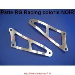 Patte de silencieux R&G RACING HONDA CBR 600 FS 02-04 (Noir)