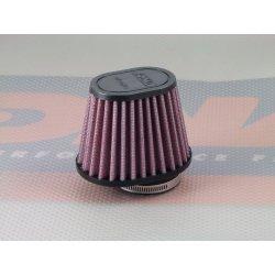 Filtre à air cornet DNA Ø38mm OVAL - hauteur 68mm (OV SERIES OV-3800)