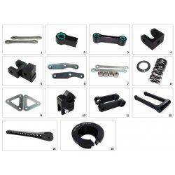 Kit de rabaissement de selle TECNIUM BMW K1600 GT 12-16 - SUZUKI DL1000 V-STROM 14-16 / GSX-R 1000 09-16