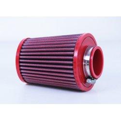 Filtre à air BMC - Cornet Ø50mm - hauteur 128mm (Conique centré) (FBSS50-128)