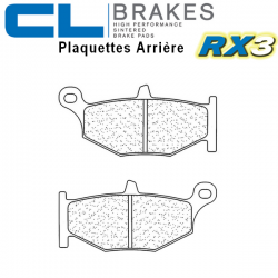 Plaquettes de frein CL BRAKES 1163RX3 SUZUKI GSX-R 600 06-10 (Arrière)