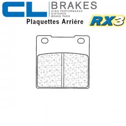 Plaquettes de frein CL BRAKES 2282RX3 SUZUKI GSF 600 BANDIT N / S 95-04 (Arrière)