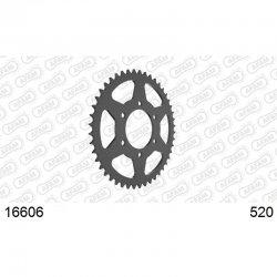 Couronne AFAM Acier type 16606 / 43 - 45 - 46 Dents - Pas 520