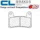 Plaquettes de frein CL BRAKES 1133C60 KAWASAKI H2 SX - SE - TOURER - PERFORMANCE 18-21 (Avant)