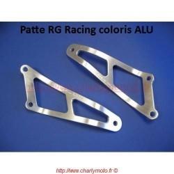 Patte de silencieux R&G RACING APRILIA RSV 1000 98-03 (Argent - 02 pots)