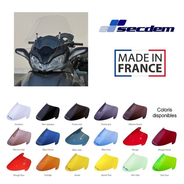 Bulle SECDEM CAN AM SPYDER ST 08-14 (Haute Protection)