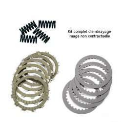 Kit embrayage TECNIUM HONDA CBF600 N - S 04-06 (Disques garnis + lisses + ressorts)