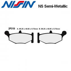 Plaquettes de frein NISSIN 2P212NS KAWASAKI Z900 RS CAFE 18-21 (Arrière)