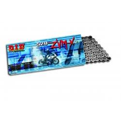 CHAINE D.I.D 520 ZVM-X (Hyper Renforcée) - NOIR/NOIR