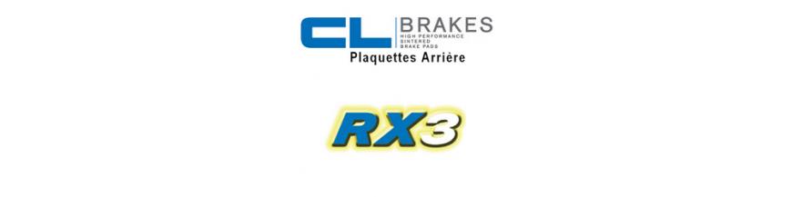 Plaquettes RX3 - Route et Touring